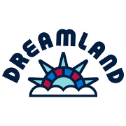 This is the restaurant logo for Dreamland Dripping Springs