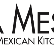 This is the restaurant logo for La Mesa