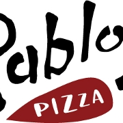This is the restaurant logo for Pablo's Pizza