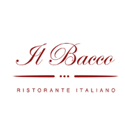 This is the restaurant logo for Il Bacco