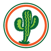 This is the restaurant logo for Rio Grande Kitchen & Cantina