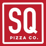 This is the restaurant logo for SQ Pizza