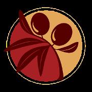 This is the restaurant logo for Khourys Mediterranean Restaurant