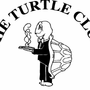 This is the restaurant logo for The Turtle Club