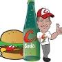 Restaurant logo for Corbett's Burgers and Soda Bar