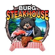 This is the restaurant logo for Burg Steakhouse