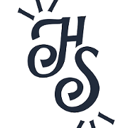 This is the restaurant logo for Hindsight BBQ