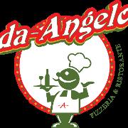 This is the restaurant logo for Da Angelo