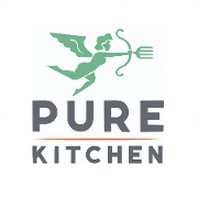 This is the restaurant logo for Pure Kitchen