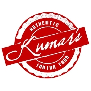This is the restaurant logo for Kumar's Connecticut