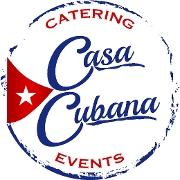 This is the restaurant logo for Casa Cubana