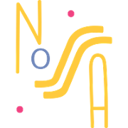This is the restaurant logo for Nossa