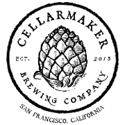 This is the restaurant logo for Cellarmaker Brewing Company