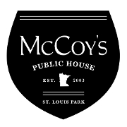 This is the restaurant logo for McCoy's Public House
