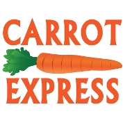 This is the restaurant logo for Carrot Express