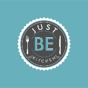 This is the restaurant logo for Just Be Kitchen