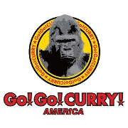 This is the restaurant logo for Go! Go! Curry!