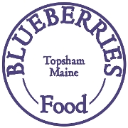 This is the restaurant logo for Blueberries