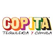 This is the restaurant logo for Copita Tequileria y Comida