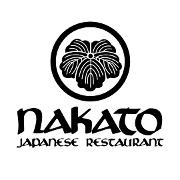 This is the restaurant logo for Nakato Japanese Restaurant