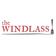This is the restaurant logo for The Windlass