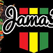 This is the restaurant logo for JamaFo Xpress & Jamin Vegan