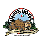 This is the restaurant logo for Union Hotel Restaurant