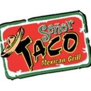 This is the restaurant logo for Senor Taco - Mount Sinai