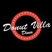 This is the restaurant logo for Donut Villa Diner (Malden)