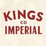 This is the restaurant logo for Kings Co Imperial
