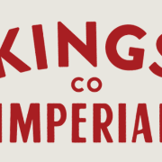 This is the restaurant logo for Kings County Imperial