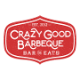 Restaurant logo for Crazy Good Barbeque