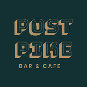 This is the restaurant logo for Post Pike Bar & Cafe