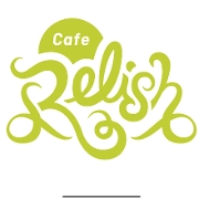 This is the restaurant logo for Cafe Relish