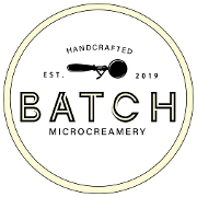 This is the restaurant logo for Batch Microcreamery - Quakertown