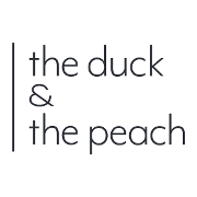 This is the restaurant logo for The Duck & The Peach
