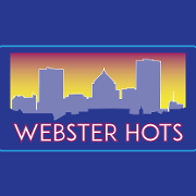 This is the restaurant logo for Webster Hots