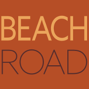 This is the restaurant logo for Beach Road