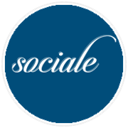 This is the restaurant logo for Sociale Chicago