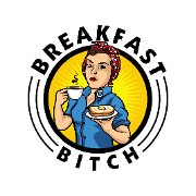 This is the restaurant logo for Breakfast Bitch AZ