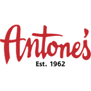 This is the restaurant logo for Antone's Famous Po'Boys