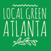 This is the restaurant logo for Local Green Atlanta