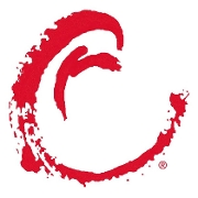 This is the restaurant logo for Crushed Red - Clayton