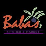 This is the restaurant logo for Baba's Mediterranean Kitchen