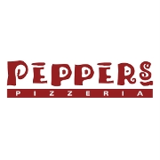 This is the restaurant logo for Peppers Pizzeria - Houma