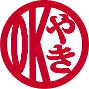 This is the restaurant logo for OK YAKI