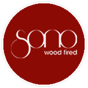 This is the restaurant logo for Sono Wood Fired