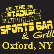 This is the restaurant logo for Stadium
