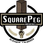 This is the restaurant logo for Square Peg Brewerks-