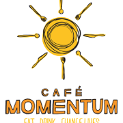 This is the restaurant logo for Cafe Momentum